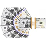 Realistic Double Sided Prop Money - Set Of 100 $100 Dollar Bills $10