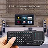 Shoptronics24 Bluetooth Tastatur QWERTY Keyboard Gamer PC Computer kabellos für Apple Samsung Windows Android iOS Sony Huawei HTC Motorola ASUS Acer HP Dell Toshiba Medion Smart TV Fernseher LG usw.