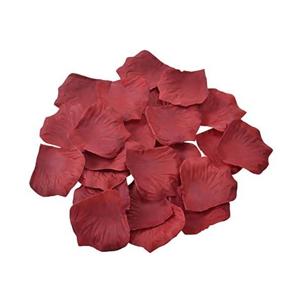 Doutop 1000 Piezas de Seda de La Flor Artificial de La Boda del Partido de Pétalos de Rosa de Pétalos de Flores para…