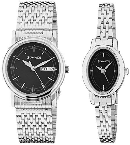 51UNQlT VsL - Sonata 11418100SM01 watch