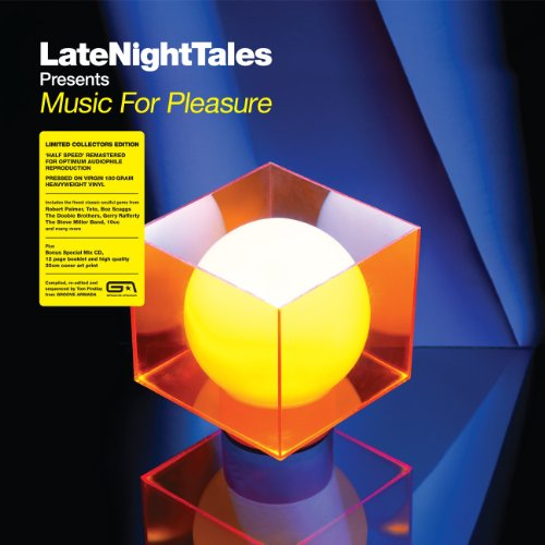 Late Night Tales presents Music For Pleasure (selected and mixed by Groove Armadas Tom Findlay) (Bonus One CD) [VINYL]