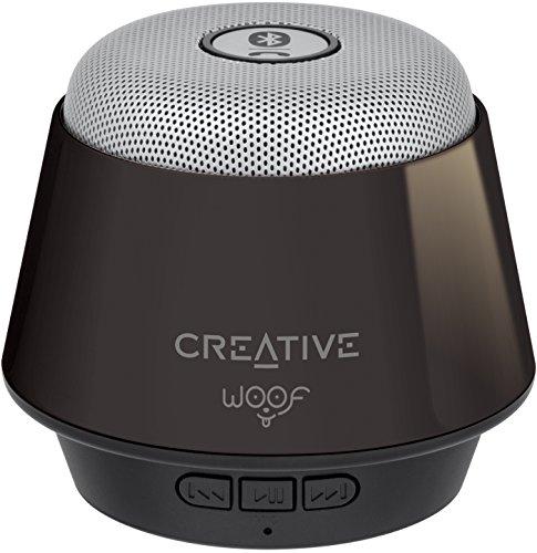 Creative Woof Bluetooth Mini-Lautsprecher (Bluetooth 3.0, bis zu 10 m Reichweite,...