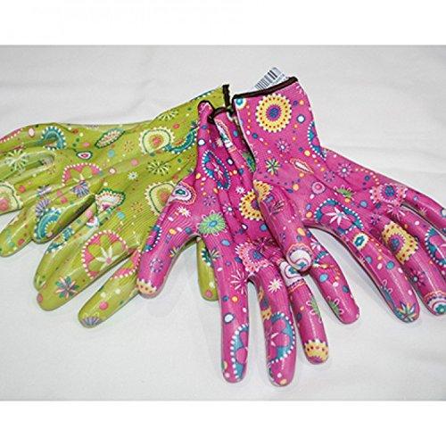 na-und® 43860 Gartenhandschuhe Damen Textil mit Noppen, Color:grün