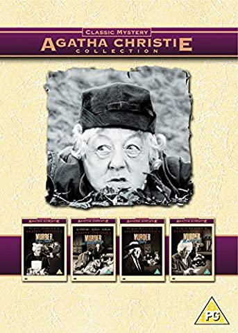 Agatha Christie's Miss Marple Collection - Murder she Said / Murder Ahoy / Murder At The Gallop / Murder Most Foul (4 Disc) [UK (Miss Marple Margaret Rutherford Dvd)