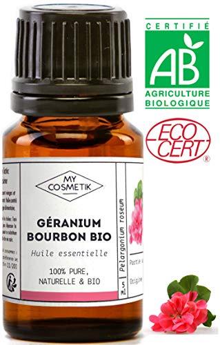 Aceite esencial de Geranio bourbon orgánico - MyCosmetik - 10 ml