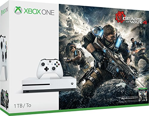 Microsoft Xbox One S 1TB Console with Gears Of War 4