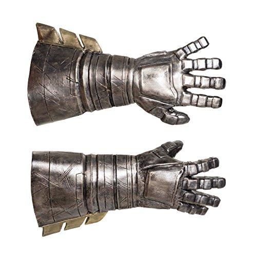 MyPartyShirt Adult Batman Armored Gauntlets Deluxe Gloves