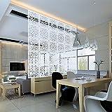 Kernorv Biombo de separación DIY Habitación Divisor separador de ambientes decorativos 12 paneles...
