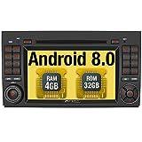 Pumpkin Android 8.0 Autoradio DVD Player für Mercedes-Benz A Klasse / B Klasse