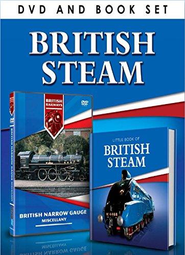 BRITISH STEAM Book & DVD Set [UK Import]