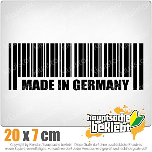Made in Germany 20 x 7 cm In 15 Farben - Neon + Chrom!JDM Sticker Aufkleber
