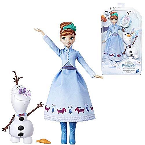 Hasbro Anna Puppe & Olaf | Disney Eiskönigin | Frozen C3384