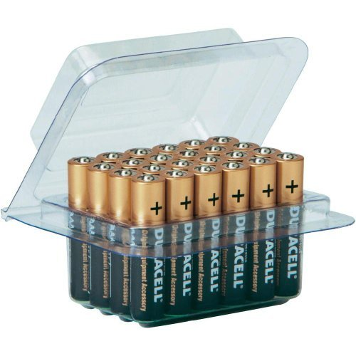Preisvergleich Produktbild Duracell Coppertop AAA 24 Alkaline Batteries PLUS FREE 1Pack MOSQUTIO Sticker, Model: , Gadget & Electronics Store