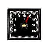Lantelme 2303 Bimetall Analog Auto Thermometer selbstklebend mit Klebepad - Kunststoff schwarz medium image