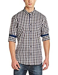 Arrow Mens Casual Shirt (8907538722973_ASUSH1374_39_Beige)
