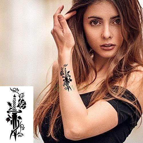 t temporäre Tattoo Aufkleber Englisch Brief für Immer Tattoo Tattoo für mädchen Mann mädchen Kind 3 stücke- ()