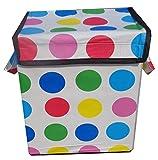 Yellow Weaves Multicolour Laundry Bag - 35 L
