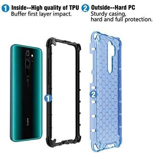 Cover per Xiaomi Mi Note 10 / PRO iBetter Custodia armor TPU Gomma Antiurto NERO