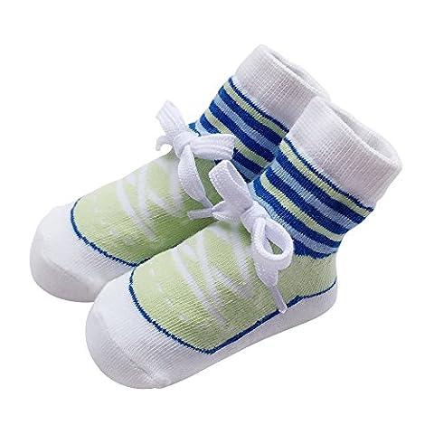 Sanlutoz - Chaussette - Bébé (garçon) 0 à 24 mois - vert - 0-12 mois