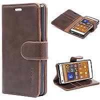 2556bd72f63 Sony Xperia Z3 Compact Case,Mulbess Leather Case, Flip Folio Book Case,  Money