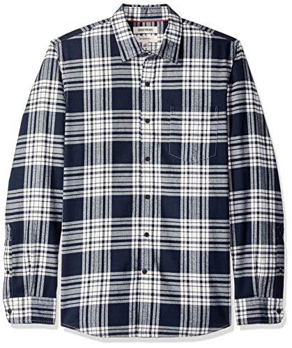 Goodthreads Herren Slim-Fit-Hemd aus gebürstetem Fleece mit langen Ärmeln und Karomuster Preisvergleich