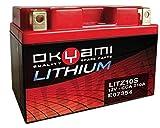 Batteria Lithium OKYAMI LITZ10S (150x87x93) per YAMAHA YZF-R6 (Excl. R6S) 600 ccm anno 06-12