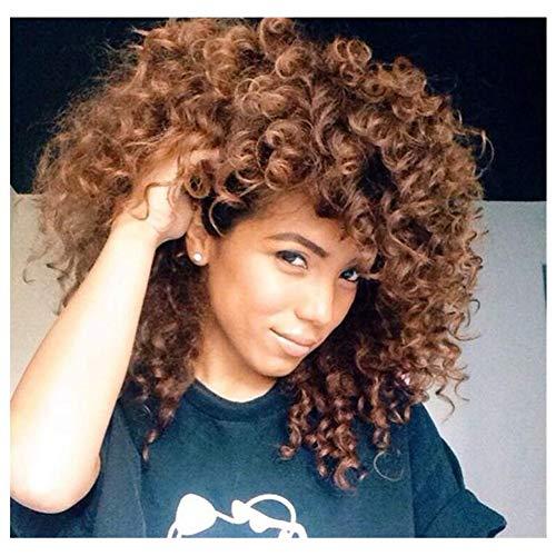Afro corto Erizo yakeda® – vaina cinturón Plegable y corrugado Doble pelucas  para Negro 6821149733a
