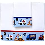 "Zigozago - Krippe Blatt ""Klakson""; Größe: Kinderbett / Kinderwagen 75 x 90 cm; Farbe: Rosa"