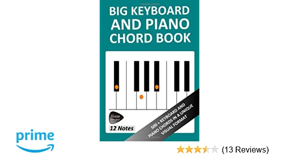 Big Keyboard And Piano Chord Book Amazon Richard Moran