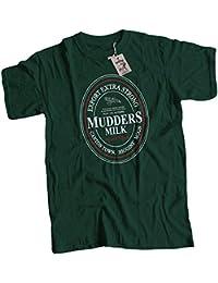 bybulldog® Mudders Milk Mens Premium T-Shirt Firefly Serenity Choice of 14 Colours Small to 3XL