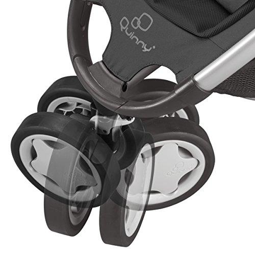 Quinny Zapp, Kinderwagen Buggy Kombiset mit Maxi-Cosi Babyschale erweiterbar, superleicht und kompakt, bis 15 kg, rocking black - 6