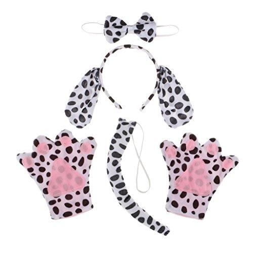 Prettyia Dalmatiner Kinderkostüm - Hund Kostüm - Tierkostüm