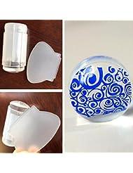 Vovotrade 2.8cm de mode Nail Art DIY Emboutissage Stamper Scraper Plate Image Transfer outil de manucure