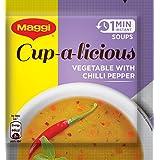 Maggi Soup Veg Chilli Pepper, 15g (Pack of 10)