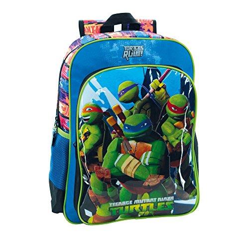 Tortugas-Ninja-25623A1-Turtles-Building-Mochila-Escolar-192-Litros-Color-Azul