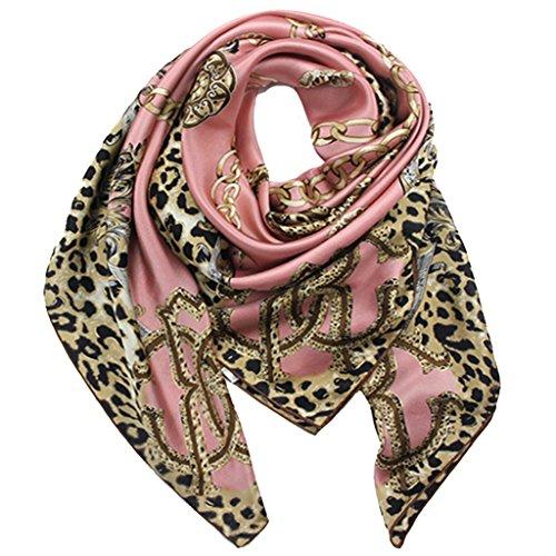 helan-femmes-reel-soie-naturelle-110-x-110-cm-foulards-carres-cuir-rose-leopard