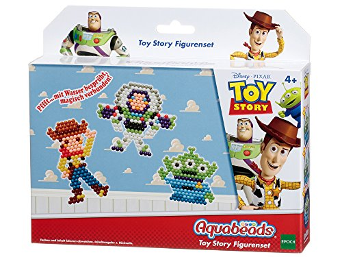 Epoch Traumwiesen Aquabeads 30119 - Toy Story Figuren Set, Bastel-Set für Kinder
