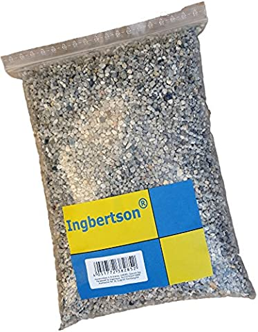 5kg Ingbertson® 3,15 bis 5,6 mm Aquariumkies Aquariumsand Aquarienkies Aquariensand Bodengrund für Aquarien