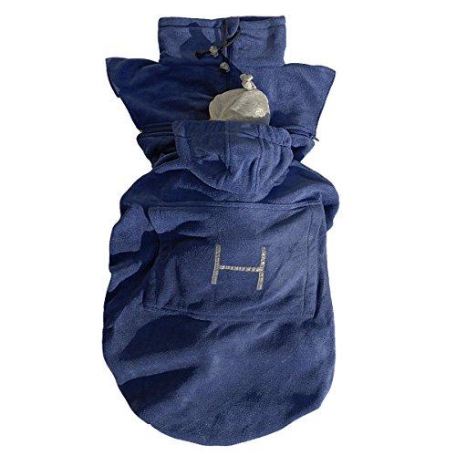 Preisvergleich Produktbild Hoppediz fs-mar Fleece-Cover Basic marine - für Tragehilfen und Tragetücher - ab circa 4 Monaten