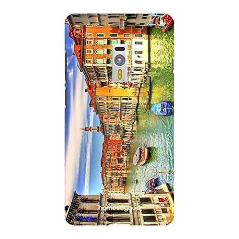 HomeSoGood The Italian Lifeline Multicolor 3D Mobile Cover For One