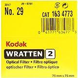 75 mm-Kodak-Wratten 2.0 Filtre optique-n ° 29