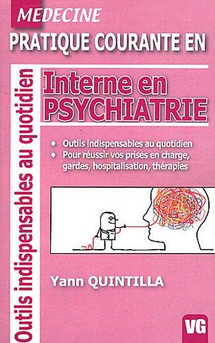 Interne en psychiatrie