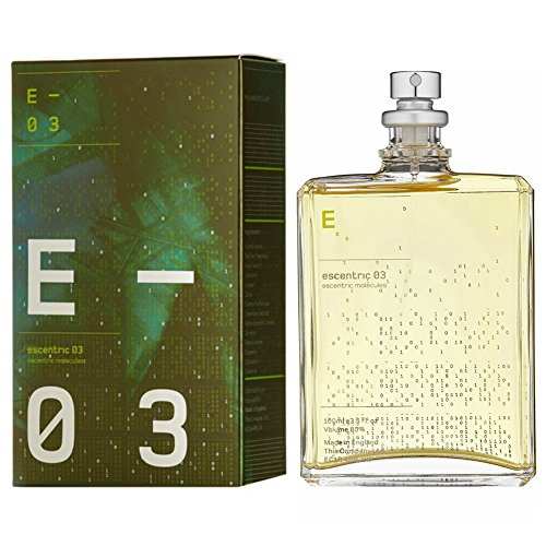 PROFUMO UOMO DONNA UNISEX ESCENTRIC 03 ESCENTRIC MOLECULES 100 ML EDT 3,5 OZ 100ML EAU DE TOILETTE