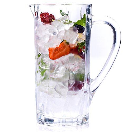 RCR 25975020006fluente Glas Wasser Saft Cocktail Krug, Kristall, 17x 11,2x 24cm Cocktail-krug