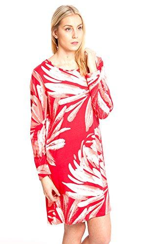 Nanso - Chemise de nuit - Femme Rouge - Rouge