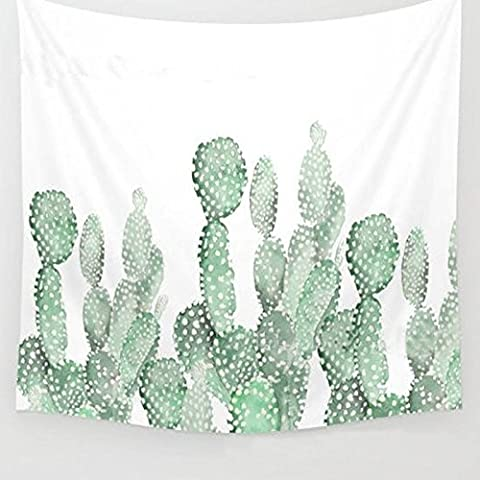 Wall Hanging Cactus Tapestry Living Room Decor (A#)