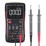 Leepesx RICHMETERS RM409B True-RMS Digital-Multimeter Taste 9999 zählt mit Analog Bar Graph Temperatursensor Test AC/DC Spannung Amperemeter Strom Ohm