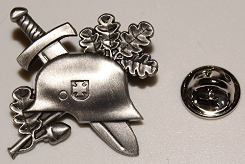 Stahlhelm Eichenlaub EK Military BW l Anstecker l Abzeichen l Pin 15