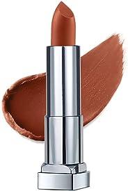 Maybelline New York Color Sensational Creamy Matte Lipstick, The Bricks- City Heat Collection, Midtown Pink 1, 3.9g