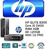 PC generalüberholt HP Elite 8300SFF Intel Core i524003,10GHz/4GB/SSD 128GB/DVD/Win 10Pro (Refurbished zertifiziert)
